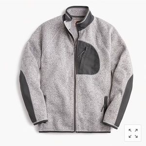 Jcrew Fleece Zip Up